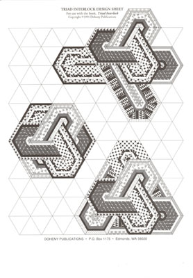 Triad Interlock Graph Paper