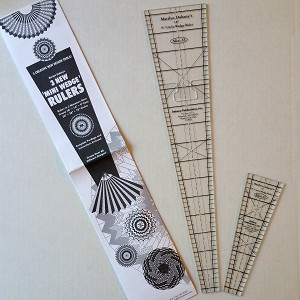"9 Degree Circle Wedge Ruler Trio Pack - 9"",14"", 18"""